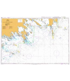 British Admiralty Nautical Chart 864 Havringe to Landsort