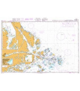 British Admiralty Nautical Chart 888 Ålands Hav to Furusund