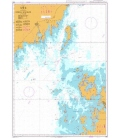 British Admiralty Nautical Chart 893 Norra Kvarken