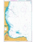 British Admiralty Nautical Chart 894 Alborg Bugt