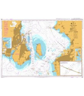 British Admiralty Nautical Chart 903 The Sound Middle Part