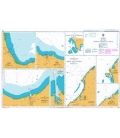 British Admiralty Nautical Chart 918 Ports on the North Coast of Jawa