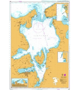 British Admiralty Nautical Chart 926 Isefjord