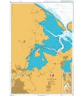British Admiralty Nautical Chart 931 Odense Fjord
