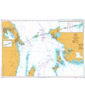 British Admiralty Nautical Chart 938 Storebaelt - Middle Part
