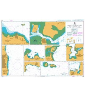 British Admiralty Nautical Chart 964 Ports in Eastern Jawa, Bali, Lombok and Pulau-Pulau Kangean