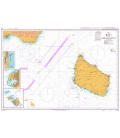 British Admiralty Nautical Chart 958 Bornholmsgat