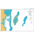 British Admiralty Nautical Chart 959 Colson Point to Belize City including Lighthouse Reef and Turneffe Islands
