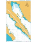 British Admiralty Nautical Chart 1017 Golfo de California