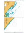 British Admiralty Nautical Chart 1052 Approaches to Kismaayo