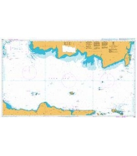 British Admiralty Nautical Chart 1066 Java Sea