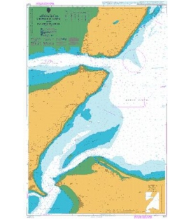 British Admiralty Nautical Chart 1077 Approaches to Cromarty Firth and Inverness Firth