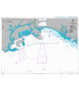 British Admiralty Nautical Chart 1082 San Pedro Bay