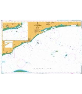 British Admiralty Nautical Chart 1143 Luchaogang to Zhapu