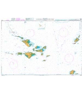 British Admiralty Nautical Chart 1144 Yangshan Deep Water Port