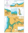British Admiralty Nautical Chart 1160 Harbours in Somerset and North Devon