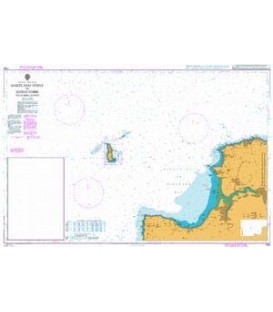 British Admiralty Nautical Chart 1164 Hartland Point to Ilfracombe including Lundy