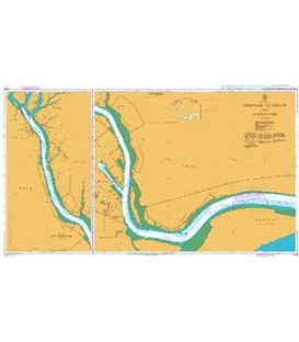 British Admiralty Nautical Chart 1228 Umm Qasr, Az Zubayr and Approaches