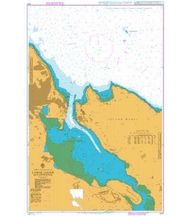 British Admiralty Nautical Chart 1237 Larne Lough and Approaches