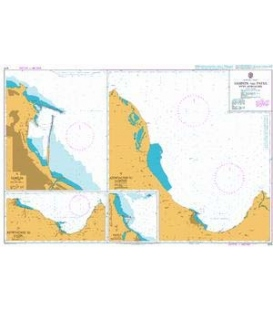 British Admiralty Nautical Chart 1274 Samsun and Fatsa with Approaches