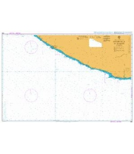British Admiralty Nautical Chart 1365 Greenville to Harper