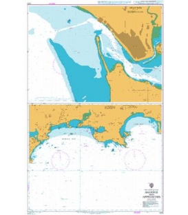 British Admiralty Nautical Chart 1372 Shanwei and Approaches
