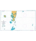 British Admiralty Nautical Chart 1398 Southern Approaches to Port Blair including Duncan Passage