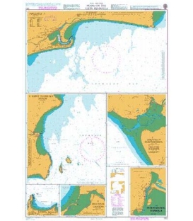 British Admiralty Nautical Chart 1512 Plans on the Lleyn Peninsula