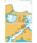 British Admiralty Nautical Chart 1569 Bizerte and Approaches