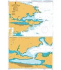 British Admiralty Nautical Chart 1614 Stanley Harbour and Approaches