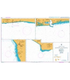 British Admiralty Nautical Chart 1946 Quetzal and Acajutla