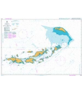 British Admiralty Nautical Chart 2006 Anegada to Saint Thomas