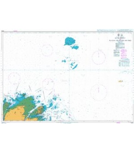 British Admiralty Nautical Chart 2028 Ile de Brehat to Plateau Des Roches Douvres