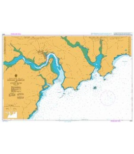 British Admiralty Nautical Chart 2053 Kinsale Harbour and Oyster Haven