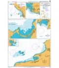 British Admiralty Nautical Chart 2079 Ports and Anchorages in Anguilla, Sint Maarten (Saint Martin) and Saint Barthelemy