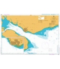 British Admiralty Nautical Chart 2099 Tawau and Approaches