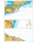 British Admiralty Nautical Chart 2114 Ports in the Golfe Du Lion