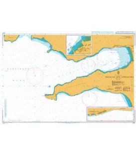 British Admiralty Nautical Chart 2127 Magadan and Approaches