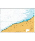 British Admiralty Nautical Chart 2148 Approaches to Fecamp and Dieppe