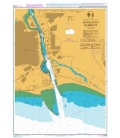 British Admiralty Nautical Chart 2154 Newhaven Harbour
