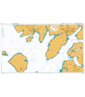 British Admiralty Nautical Chart 2208 Mallaig to Canna Harbour