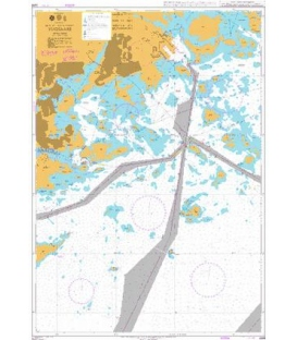 British Admiralty Nautical Chart 2219 Vuosaari