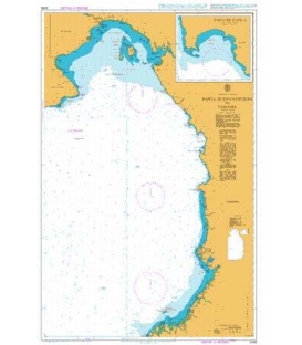 British Admiralty Nautical Chart 2258 Bahia Buenaventura to Panama