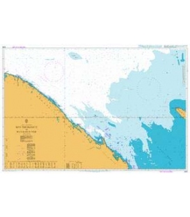 British Admiralty Nautical Chart 2269 Mys Teriberskiy to Mys Kanin Nos