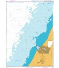 British Admiralty Nautical Chart 2277 Ventspils and Approaches