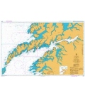 British Admiralty Nautical Chart 2327 Vaeroya to Litloya including Vestfjorden to Narvik