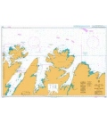 British Admiralty Nautical Chart 2330 Nordkapp to Makkaur