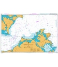 British Admiralty Nautical Chart 2944 Southwest Approaches to the Baltic Sea