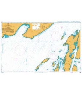 British Admiralty Nautical Chart 2386 Firth of Lorn Southern Part