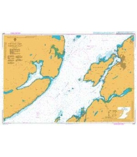 British Admiralty Nautical Chart 2387 Firth of Lorn Northern Part